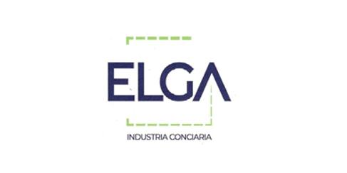 Logo ELGA: industria conciaria