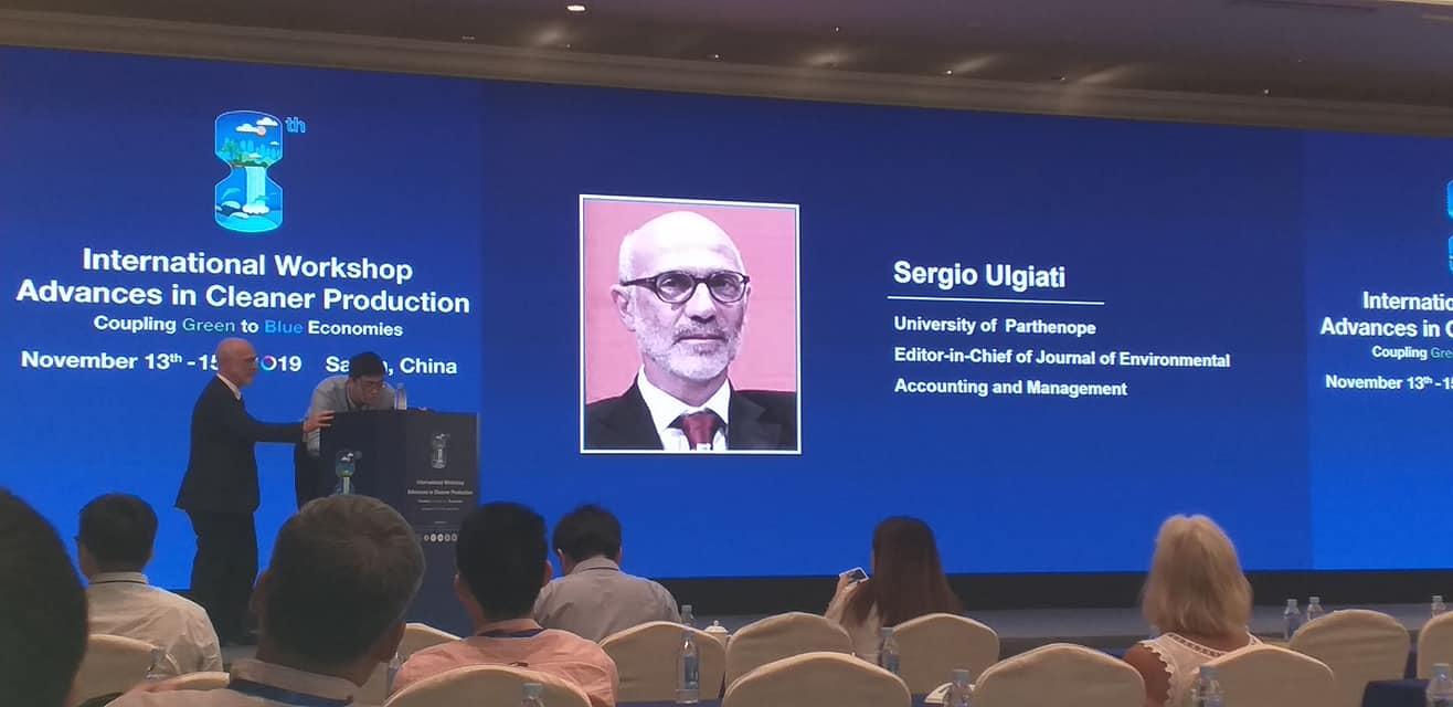 Sergio Ulgiati receives prestigious award