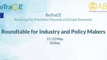 The virtual ReTraCE Roundtable for Industry and Policy Makers